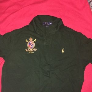 Green Ralph Lauren's polo size M